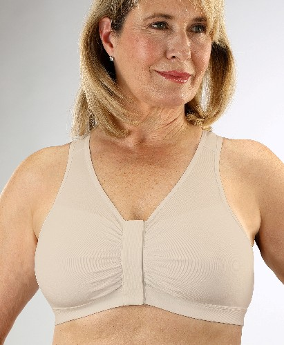 Classique #800 Front Close Cotton Mastectomy Bra