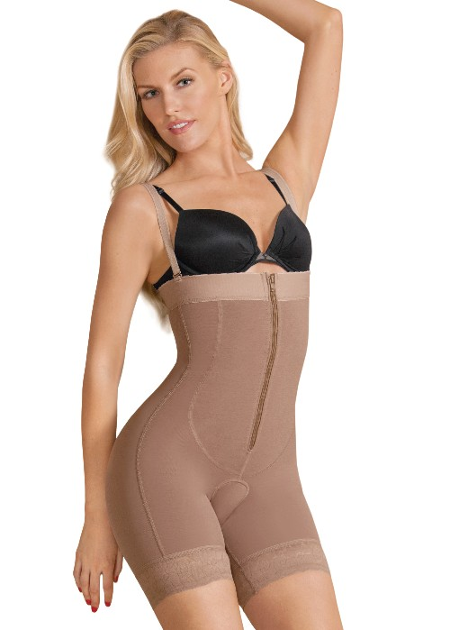 EuroSkins Power Firm Compression High Waist Boxer Shaper