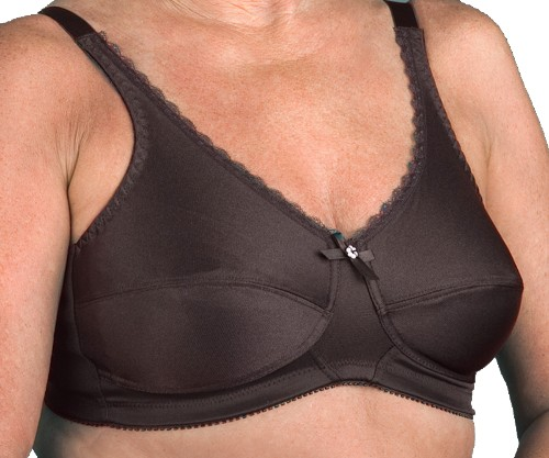 NEARLY ME #630  Plain Soft Cup Mastectomy Bra