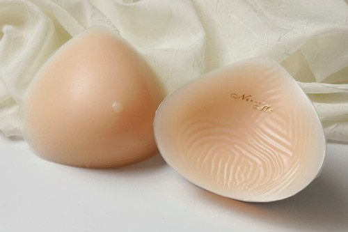 Nearly Me #860 Modified Triangle Silicone Breast Form