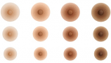 Amolux Natural Attachable Silicone Nipples