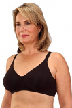Classique #722 Seamless Cotton Mastectomy Bra