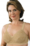Classique #766 Romantic Lace Mastectomy Underwire Bra