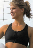 Lia Cotton Active Firm Support Mastectomy Sports Bra