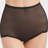 Rago V-Leg Sheer Shaper Panty Brief